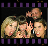 Get a Variety of Photo Layout, Fonts and Colors.  Premiere Photo Booth Rental of Las Vegas, NV