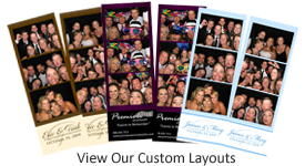 Photo Booth Rental Custom Layout of Photos