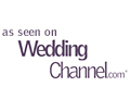 As Seen and Featured in The Wedding Channel